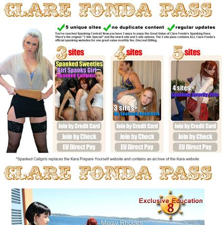 Clare Fonda Pass