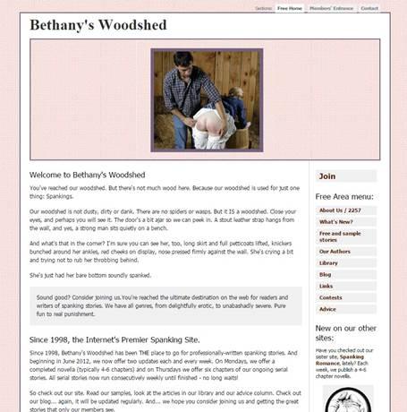Bethany's Woodshed