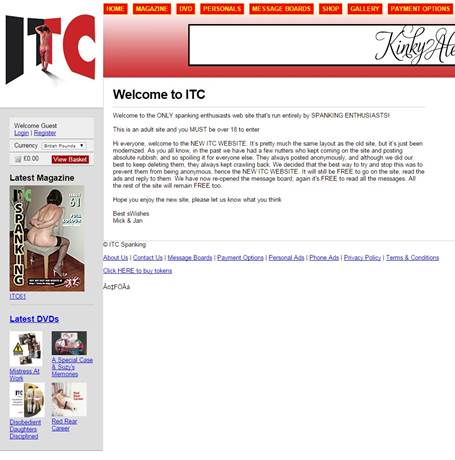 ITC Mag Spanking DVD